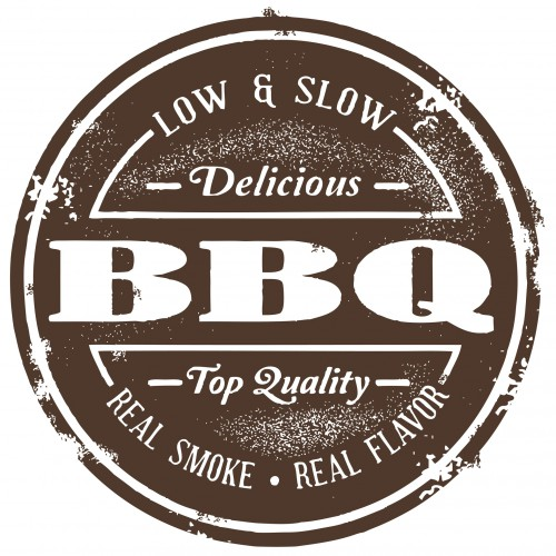 Vintage Style BBQ Stamp